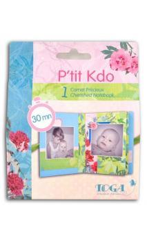 Kit P'tit Kdo - Mini carnet précieux Pivoine