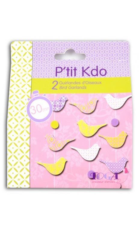 Kit P'tit Kdo - Guirlandes d'oiseaux