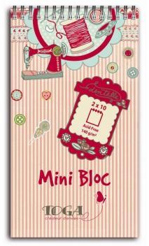 Mini bloc journaling  Miss couture