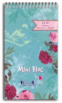 Mini bloc journaling  Piv. menthe