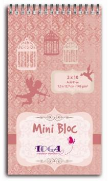 Mini bloc journaling Cupidon