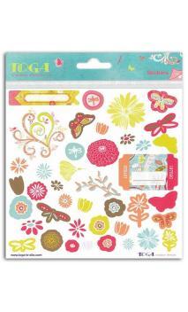 2 pl. stickers  15x15 Instant Poétique