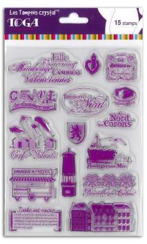 Set sellos Crystal® 14X18  Coté Nord
