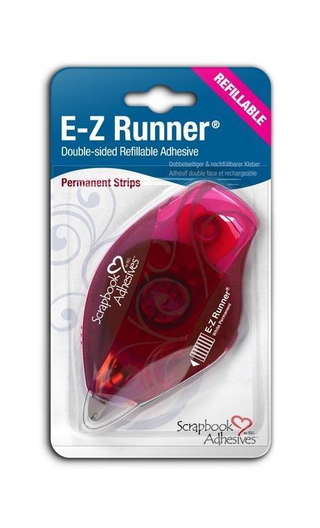 E-Z Runner®-Adh. Perm. Recarga