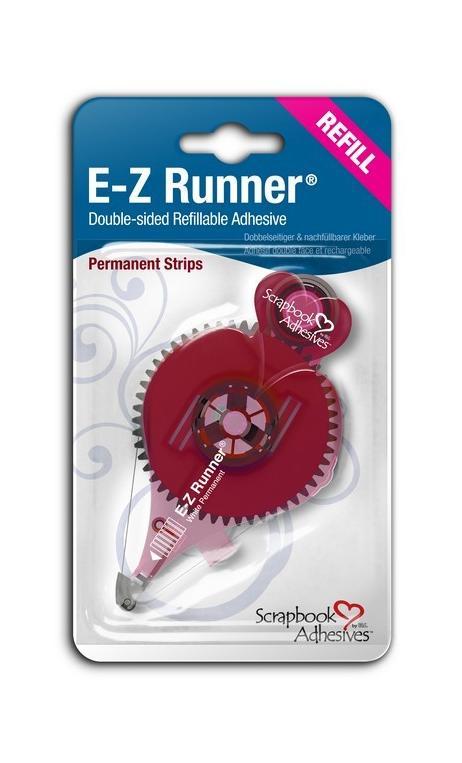 E-Z Runner®-Recarga Adh. Perm.