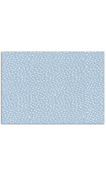 Tela adhesiva A4 - Gouttelettes bleu