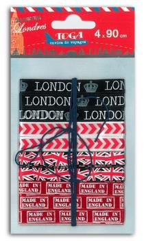 Surtido 4 Cintas Londres
