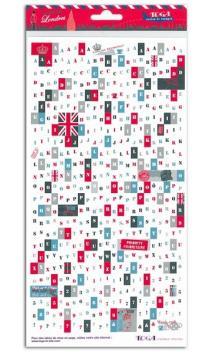 Stickers alfabeto Londres