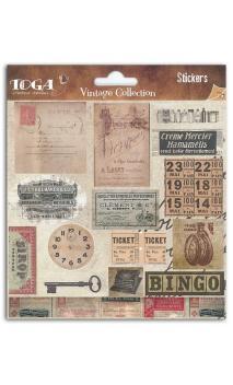 pegatinas Etiquetas Vintage