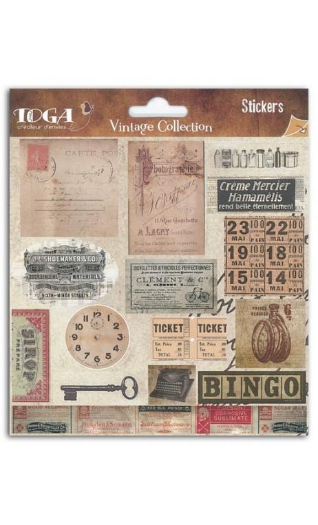 Stickers Etiquetas Vintage