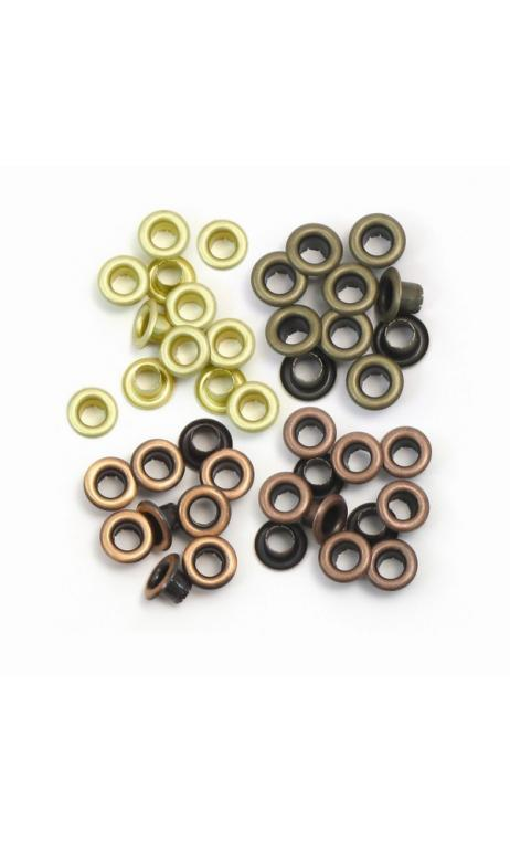 Standard Eyelets - Copper Warm Metal