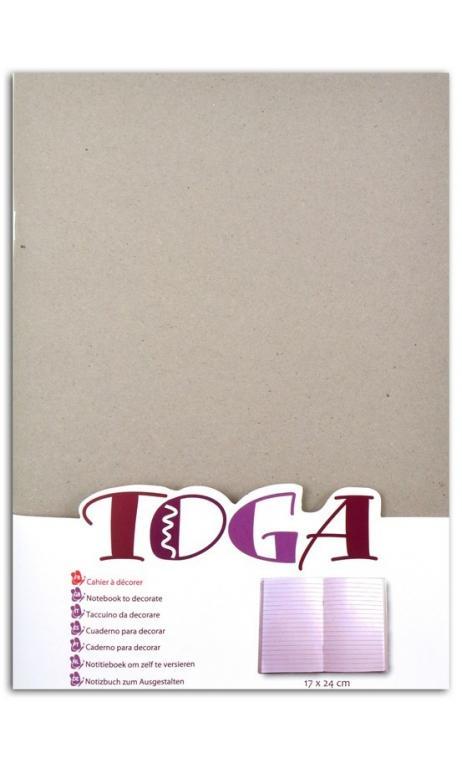Carnet rayado 17x24cm para decorar