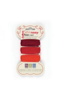 Sew1sy Floss - Reds