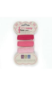 Sew1sy Floss - Pinks