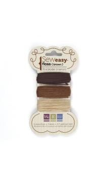 Sew1sy Floss - Browns