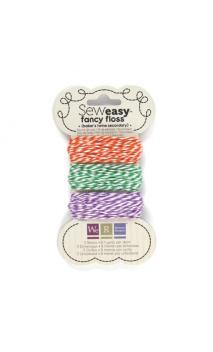 Sew1sy Fancy Floss Bakers Twine-Scndry