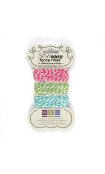 Sew1sy Fancy Floss Bakers Twine-Trtry