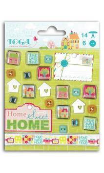 Set adornos Home Sweet Home