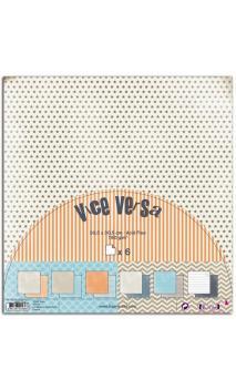 Set 6 papeles R/V 30x30 Vice Versa