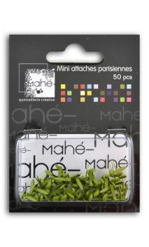 50 mini encuadernadores - Verde