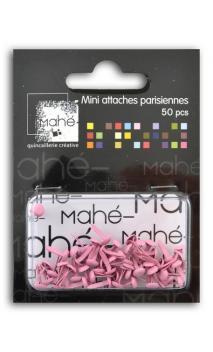 50 mini encuadernadores - Rosa pálido