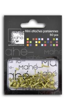 50 mini encuadernadores - Crema