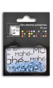 50 mini encuadernadores - Azul cielo