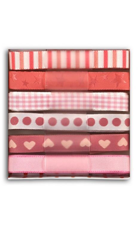 Cintas rosa claroscuro