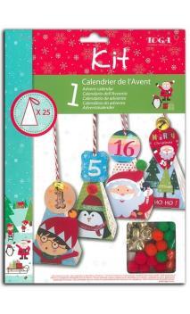"""Kit de adviento casas ''La Navidad de los duendes"""""""