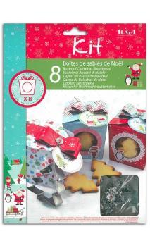 """Kit galletas ''La Navidad de los duendes"""""""
