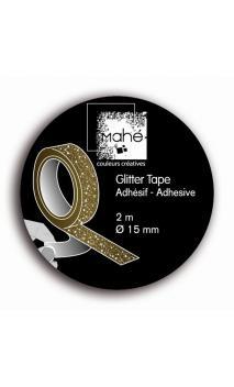 Glitter Tape   Oro