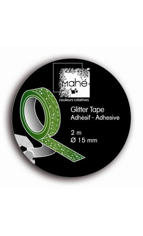 Glitter Tape  - Verde