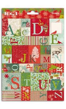 """Stickers palabras y cifras 15x20""""El bosque encantado"""""""