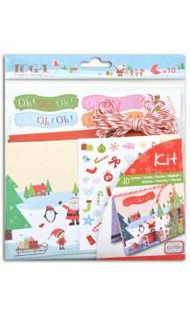 """Postales""""La Navidad de los duendes"""""""