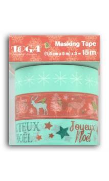 """Masking tape""""La Navidad de los duendes"""""""