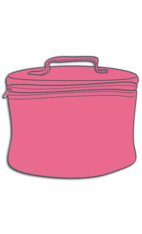 Bolsa con asa Vanity beauté ROSA