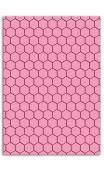 Placa para Emboss A5 Nido de abeja