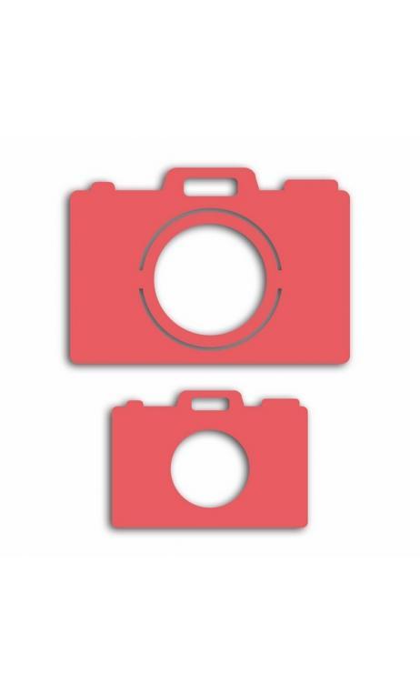 Troqueles appareils photo-2 tailles