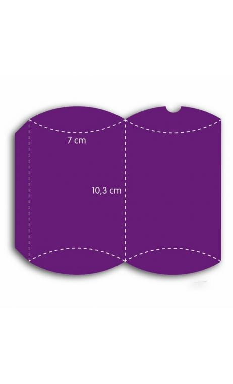 Troquel pillow box 1 - 128 x 155 mm