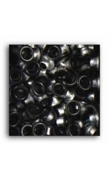 Remaches 1/8 - 100pcs - negro