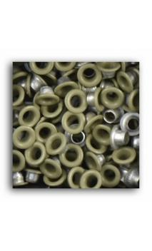 Remaches 1/8 - 100pcs - crème