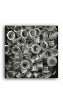Remaches 1/8 - 100pcs - plata
