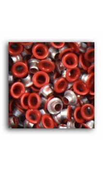 Remaches 1/8 - 100pcs - Rojo