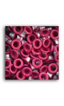 Remaches 1/8 - 100pcs - fucsia