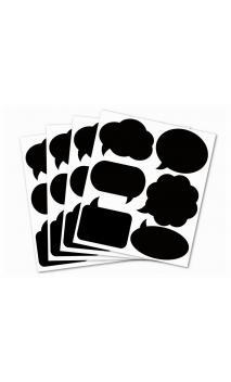Stickers pizarra-bulles de bd