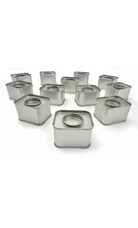 Cajas de metal rectangulares